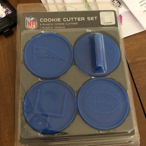 New England Patriots Cookie cutters